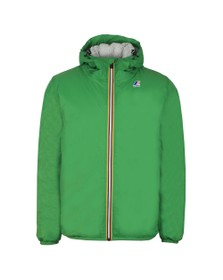 K-Way Mens Green Le Vrai Claude Orsetto Fleece Lined Jacket
