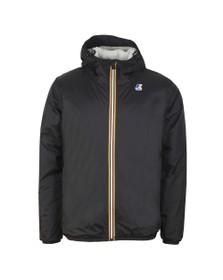K-Way Mens Black Le Vrai Claude Orsetto Fleece Lined Jacket