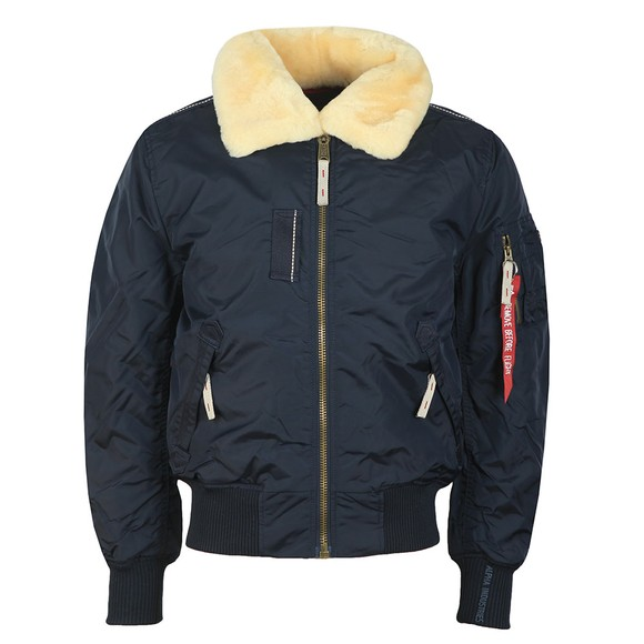 Alpha Industries Mens Blue Injector III Jacket main image