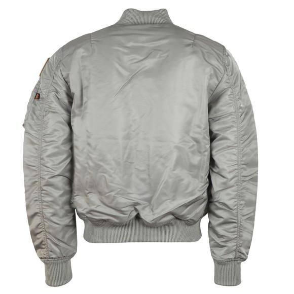 Alpha Industries Mens Silver MA-1 Nasa Jacket main image