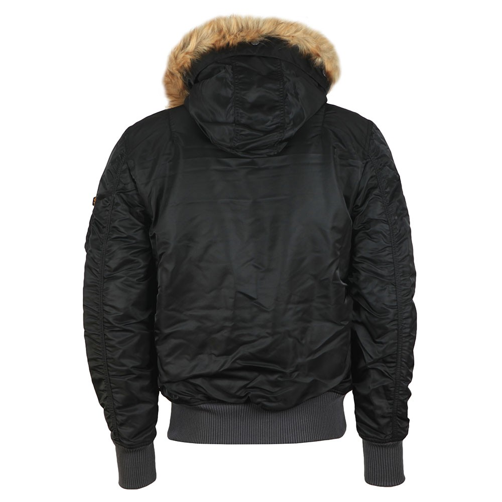 MA-1 Hooded Fur Jacket main image