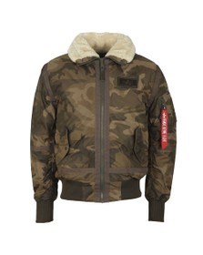 Alpha Industries Mens Grey B15-3TT Jacket
