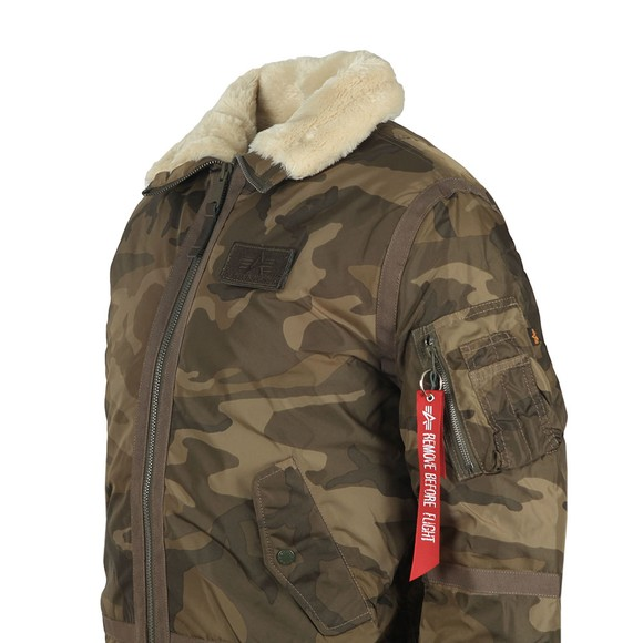 Alpha Industries Mens Green B15-3TT Jacket main image