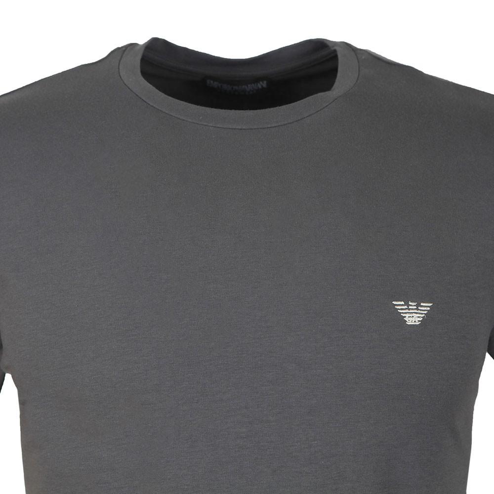 Stretch Small Logo Crew Neck T-Shirt main image