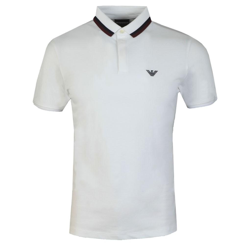 Double Coloured Collar Polo Shirt main image
