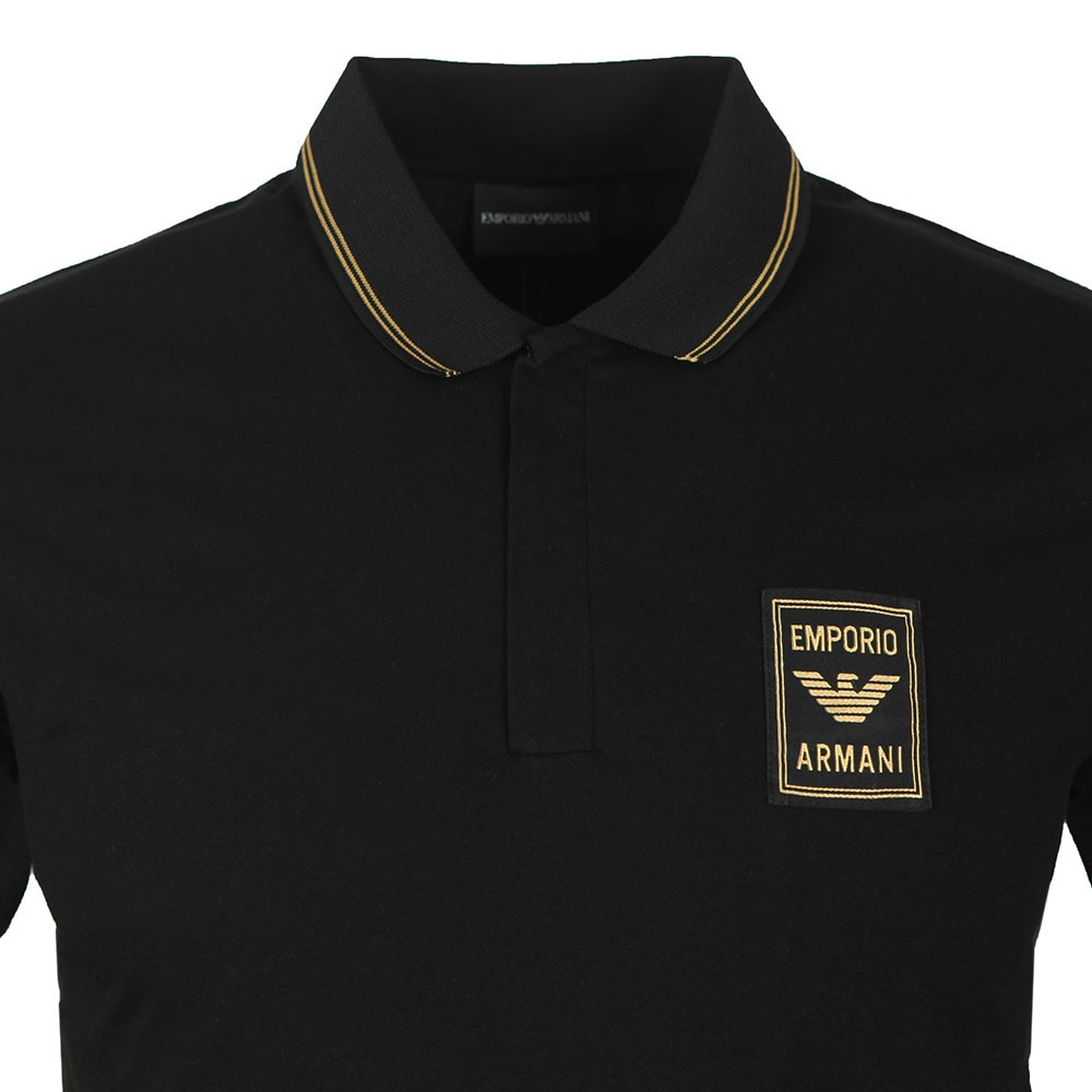 Gold Logo Polo Shirt main image