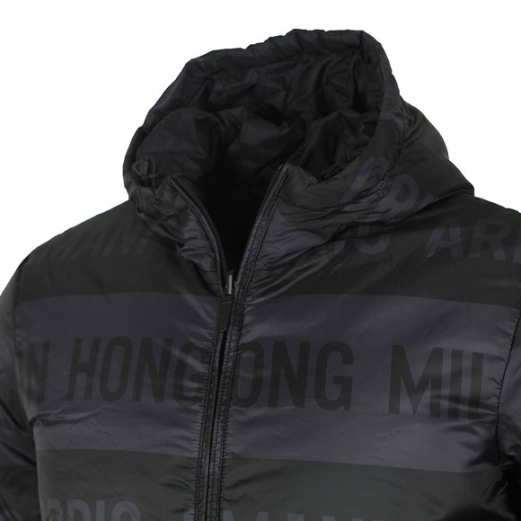 Emporio Armani Mens Black Blouson Jacket