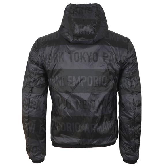 Emporio Armani Mens Black Blouson Jacket main image