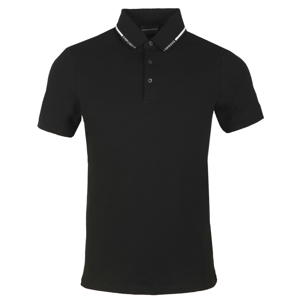 Jersey Emporio Collar Polo Shirt main image