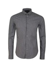 Emporio Armani Mens Blue Camacia Long Sleeved Shirt