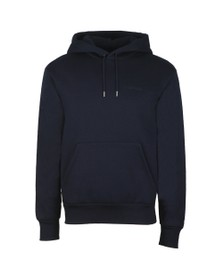 J.Lindeberg Mens Blue Chip Hooded Lux Sweat