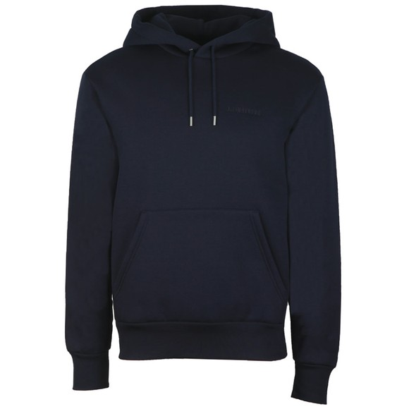 J.Lindeberg Mens Blue Chip Hooded Lux Sweat main image