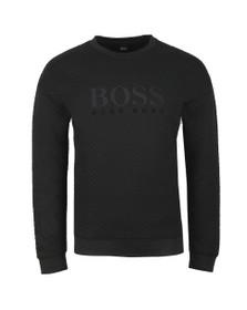 BOSS Bodywear Mens Black Contemporary Sweatshirt