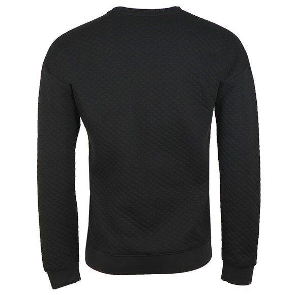 BOSS Bodywear Mens Black Contemporary Sweatshirt  main image