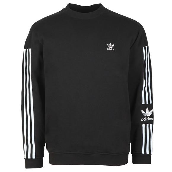 adidas Originals Mens Black Tech Crew Sweatshirt main image