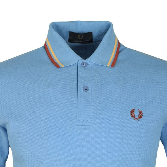 Fred Perry (Reissues) Mens Blue Tipped Polo main image