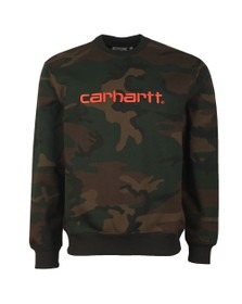 Carhartt WIP Mens Grey Sweatshirt