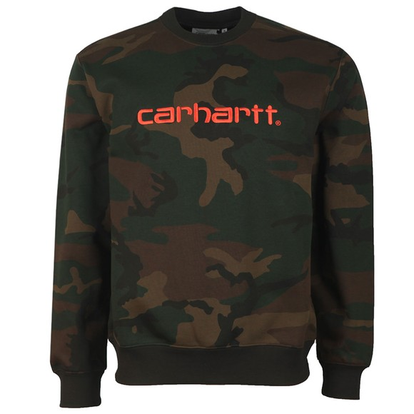 Carhartt WIP Mens Green Sweatshirt