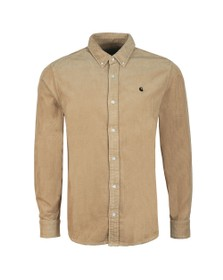 Carhartt WIP Mens Off-White Madison Cord Shirt