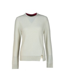 Ted Baker Womens Off-White Kenala Textured Stitch Jumper