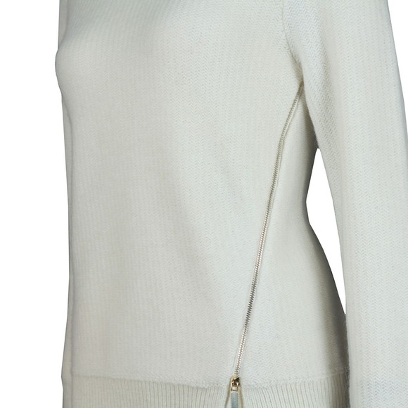 Ted Baker Womens Off-White Kenala Textured Stitch Jumper main image