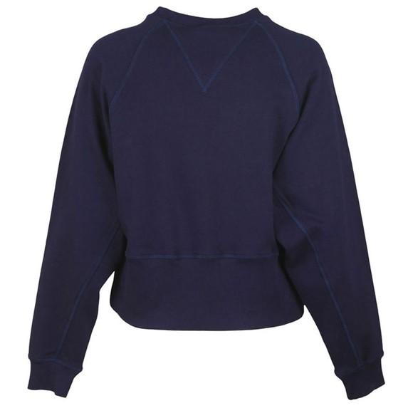 Vivienne Westwood Anglomania Womens Blue Badge Sweatshirt main image