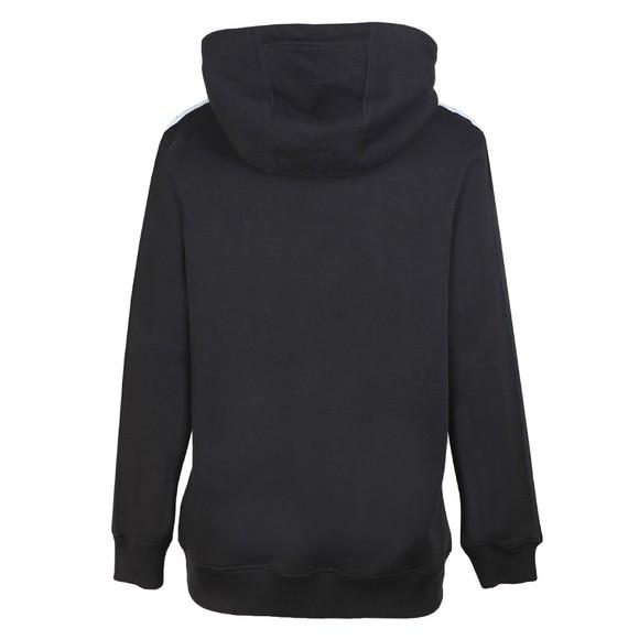 Calvin Klein Jeans Womens Black Relaxed Logo Tape Hoody main image
