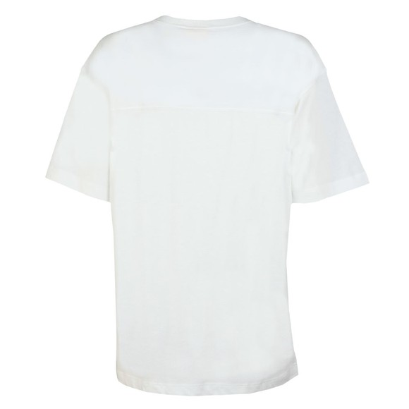 Champion Reverse Weave Womens White Small Script Logo T Shirt main image