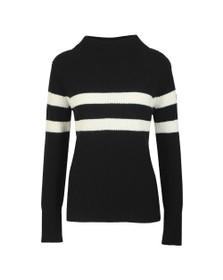 Barbour International Womens Black Quayle Knit