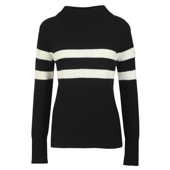 Barbour International Womens Black Quayle Knit