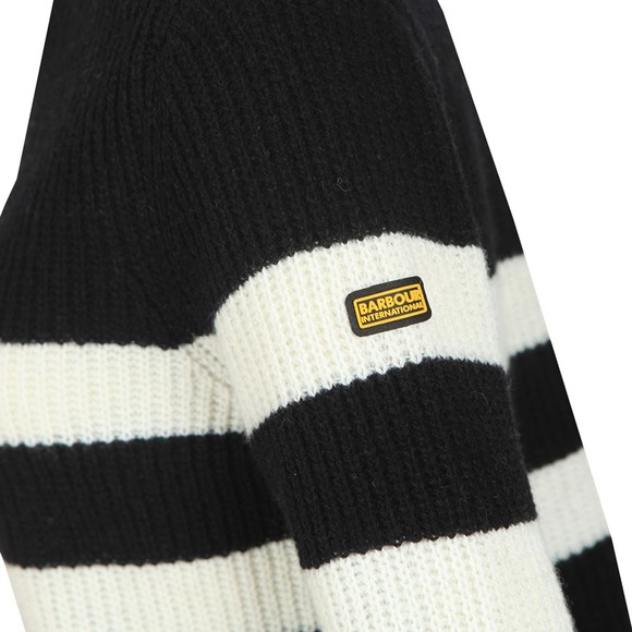 Barbour International Womens Black Quayle Knit main image