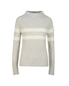 Barbour International Womens Grey Quayle Knit