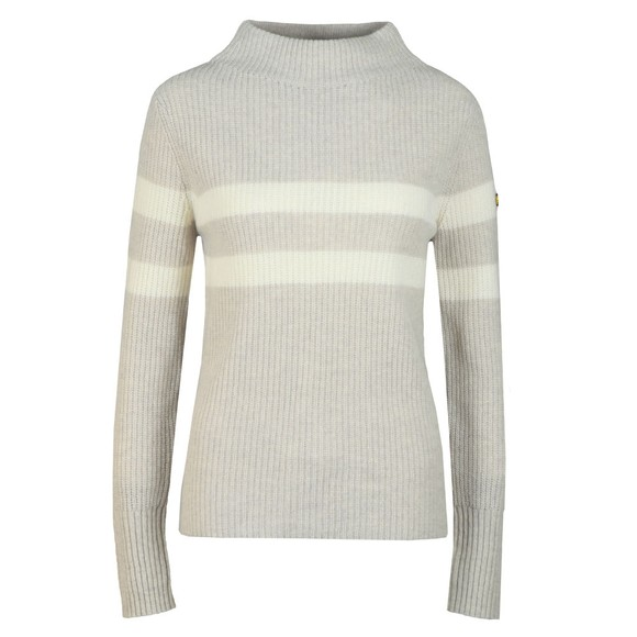 Barbour International Womens Grey Quayle Knit main image
