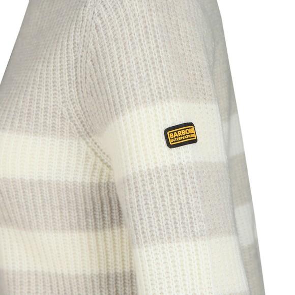Barbour International Womens Grey Quayle Knit main image