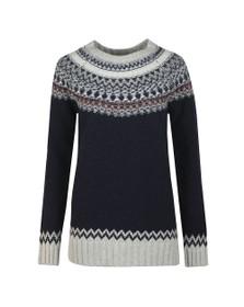 Barbour Lifestyle Womens Blue Fairlead Knit