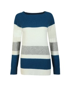Barbour Lifestyle Womens Off-White Oyster Knit
