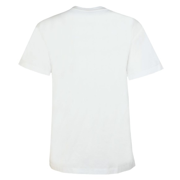 Polo Ralph Lauren Womens White Big Beaded Polo T-Shirt main image