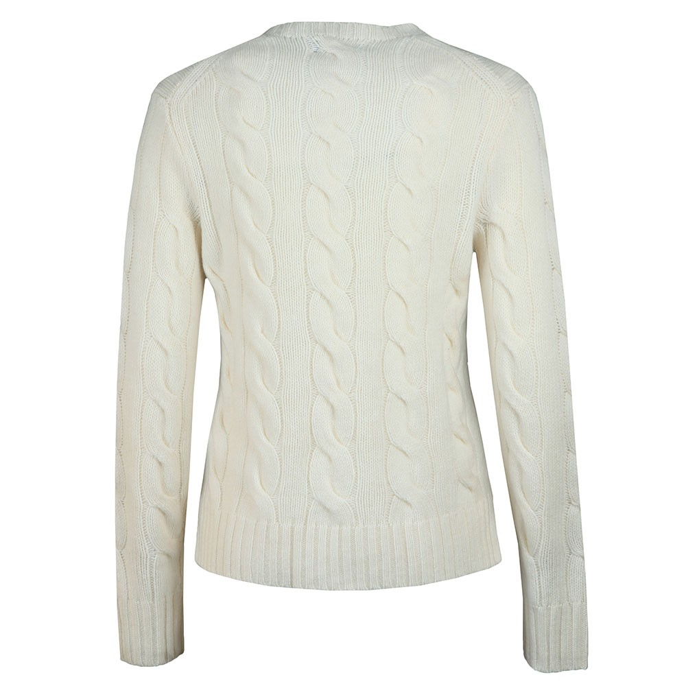 Cable Knitted Wool Jumper main image