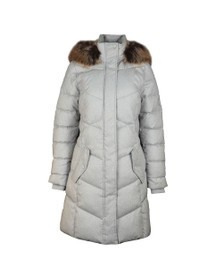 Barbour Lifestyle Womens White Sternway Quilted Jacket
