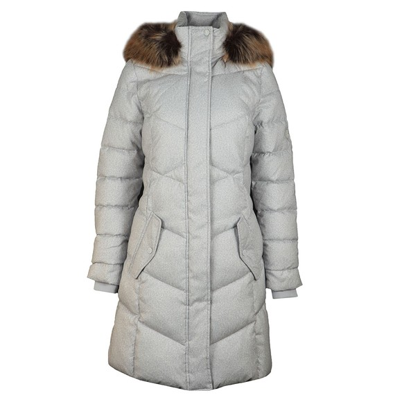 Barbour Lifestyle Womens White Sternway Quilted Jacket main image