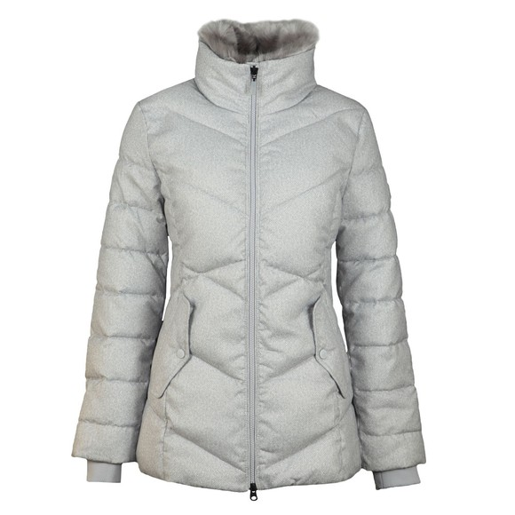 Barbour Lifestyle Womens White Scuttle Quilt main image