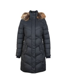 Barbour Lifestyle Womens Blue Sternway Quilted Jacket