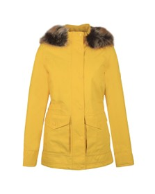 Barbour Lifestyle Womens Yellow Abalone Jacket