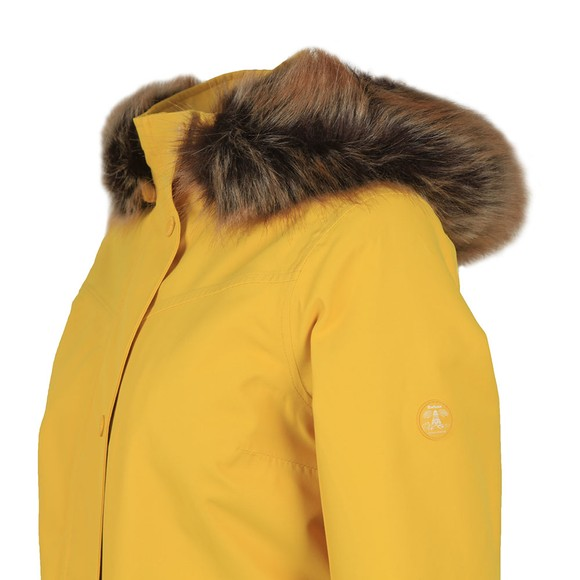 Barbour Lifestyle Womens Yellow Abalone Jacket main image
