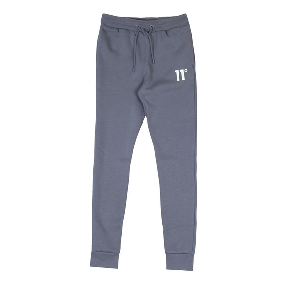 Eleven Degrees Mens Grey Skinny Joggers main image