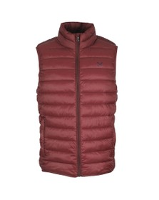 Crew Clothing Company Mens Purple Lightweight Gilet