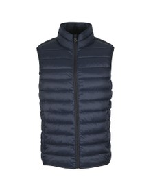 Crew Clothing Company Mens Blue Lightweight Gilet