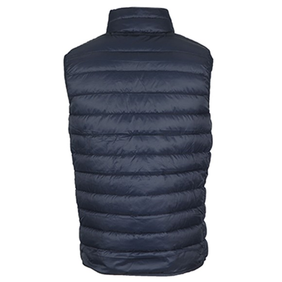 Crew Clothing Company Mens Blue Lightweight Gilet main image