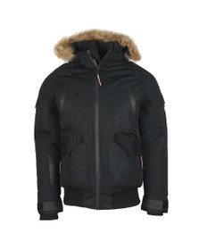 Good For Nothing Mens Black Artic Bomber