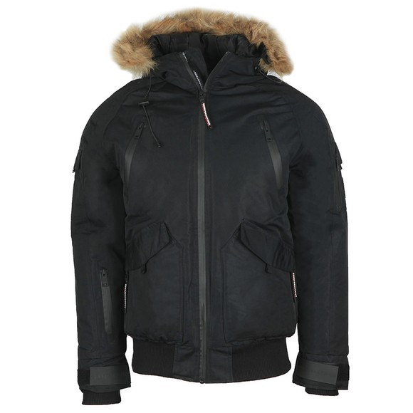 Good For Nothing Mens Black Artic Bomber main image